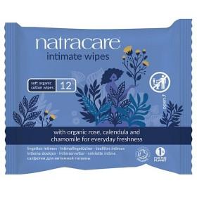 Bild på Natracare Intimate Wipes 12 st