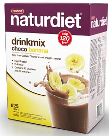 Bild på Naturdiet Drinkmix Chocobanana 25 portioner