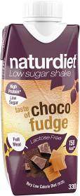 Bild på Naturdiet Free Laktosfri Shake Choco Fudge 330 ml