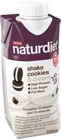 Bild på Naturdiet Shake Cookies & Cream 330 ml