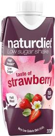 Bild på Naturdiet Shake Strawberry 330 ml