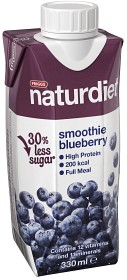 Bild på Naturdiet Smoothie Blueberry 330 ml