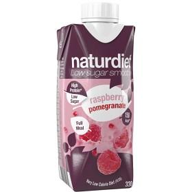 Bild på Naturdiet Smoothie Raspberry & Pomgranate 330 ml