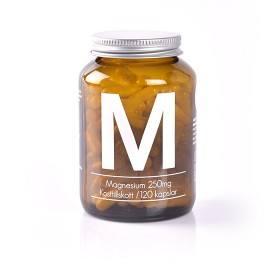 Bild på Nature Nutrition Magnesium 250 mg 120 kapslar