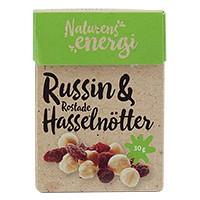 Bild på Naturens Energi Russin & Hasselnöt 30 g