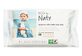 Bild på Naty Sensitive Wipes with Aloe Vera 56 st