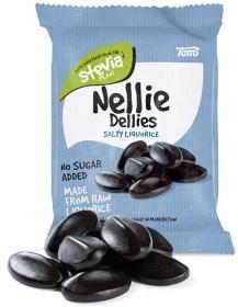 Bild på Nellie Dellies Salty Liquorice 90 g