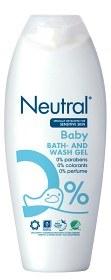Bild på Neutral Baby Bath & Wash Gel 250 ml