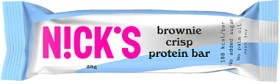 Bild på Nicks Protein Bar Brownie Crisp 50 g