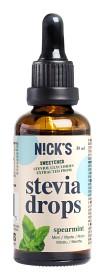 Bild på Nicks Stevia Drops Spearmint 50 ml