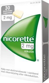 Bild på Nicorette, medicinskt tuggummi 2 mg 30 st