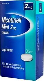 Bild på Nicotinell Mint komprimerad sugtablett 2 mg 36 st