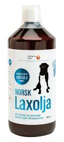 Bild på Norsk laxolja för hund och katt 1000 ml