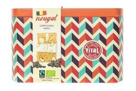 Bild på Vital Nougat Cappuccino & Vanilj plåtburk 250 g
