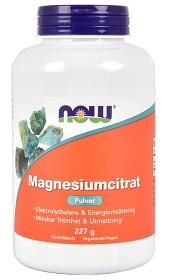 Bild på NOW Magnesiumcitrat pulver 227 g