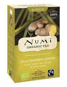 Bild på Numi Organic Tea Decaf Ginger Lemon 16 st