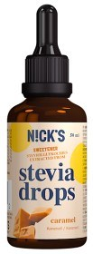 Bild på Nicks Stevia Drops Caramel 50 ml