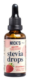 Bild på Nicks Stevia Drops Strawberry 50 ml