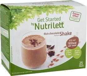Bild på Nutrilett Shake Rich Chocolate 25 påsar