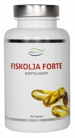 Bild på Nutrivian Fiskolja Forte 60 kapslar