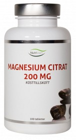 Bild på Nutrivian Magnesiumcitrat 100 tabletter