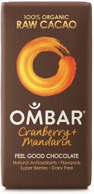 Bild på Ombar Cranberry & Mandarin 35 g