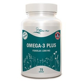 Bild på Omega-3 Plus 75 kapslar
