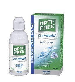 Bild på Opti-Free PureMoist Travel Pack 90 ml