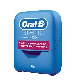Bild på Oral-B 3D White Luxe tandtråd 35 m