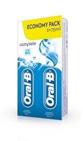 Bild på Oral-B Complete Extra White  2 X 75 ml