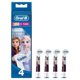 Bild på Oral-B Kids Frozen tandborsthuvud 4 st