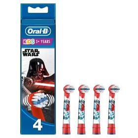 Bild på Oral-B Kids Star Wars tandborsthuvud 4 st