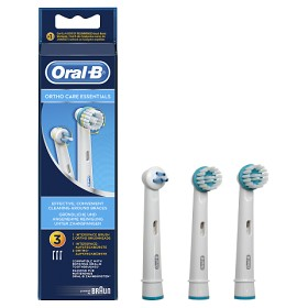 Bild på Oral-B Ortho Care Essentials borsthuvud 3 st
