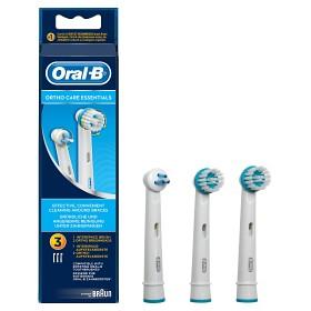 Bild på Oral-B Ortho Care Essentials tandborsthuvud 3 st