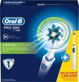Bild på Oral-B Pro 690 Cross Action DUO