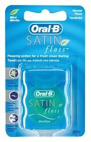 Bild på Oral-B Satin Floss tandtråd 25 m