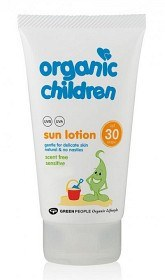 Bild på Organic Children Sun Lotion Scent Free SPF 30, 150 ml