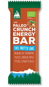 Bild på Kleen Paleo Crunch Energy Bar The Nutty One 47 g