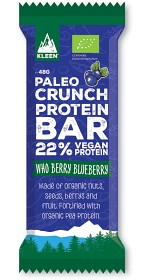 Bild på Kleen Paleo Crunch Protein Bar Who Berry Blueberry 47 g