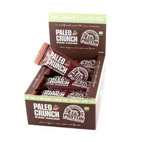 Bild på Paleo Crunch Raw Protein Bar Dark Cacao 12 st