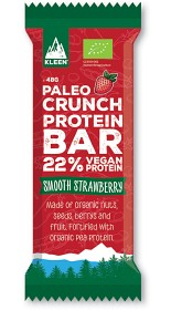 Bild på Kleen Paleo Crunch Protein Bar Smooth Strawberry 47 g