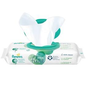 Bild på Pampers Aqua Pure Tvättservetter 48 våtservetter