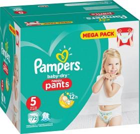 Bild på Pampers Baby-Dry Nappy Pants S5 12-17 kg 72 st