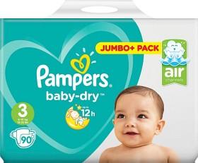 Bild på Pampers Baby-Dry S3 6-10kg 90 st