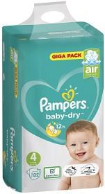 Bild på Pampers Baby-Dry S4 9-14 kg 132 st