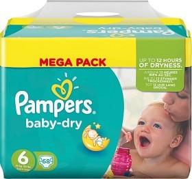 Bild på Pampers Baby-Dry S6 15+ kg 68 st