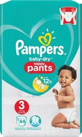 Bild på Pampers Baby-Dry Nappy Pants S3 6-11kg 44 st