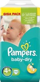 Bild på Pampers Baby-Dry S4+ 9-20kg 112 st