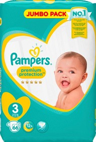 Bild på Pampers Premium Protection S3 6-10 kg 66 st