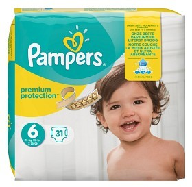 Bild på Pampers Premium Protection S6 15+kg 31 st